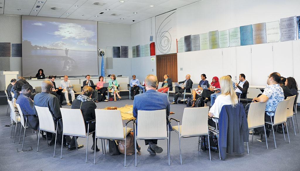 Developing countries at Talanoa Dialogue ask for roadmap to fulfil the mandate of  $100 billion by developed countries and raise climate ambitions post-2020 (Source: UNFCCC)