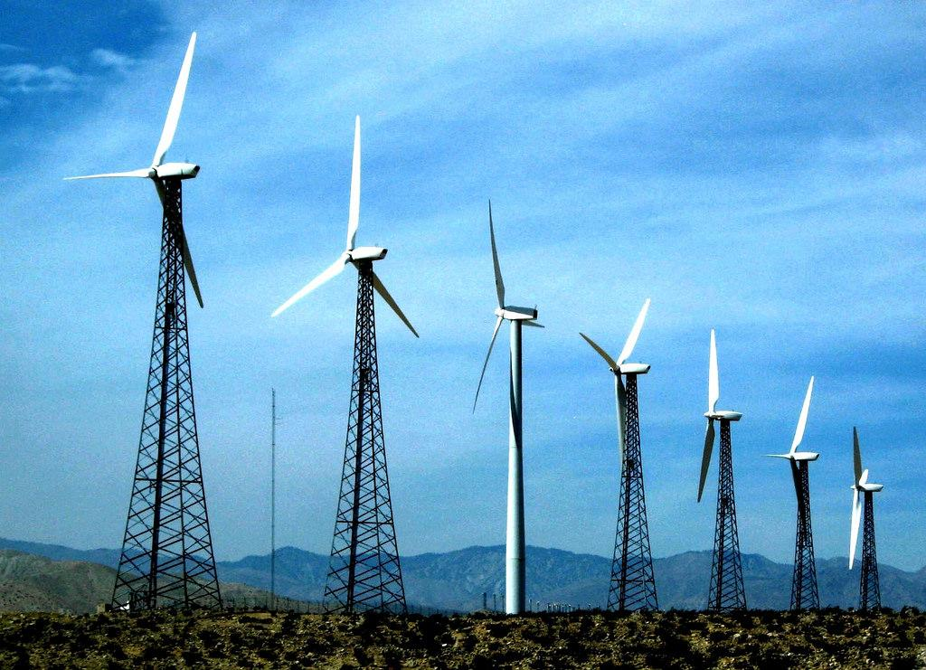 By 2050, $8.4 trillion is likely to be invested in wind and solar.  Wind energy. Credit: moonjazz / flickr