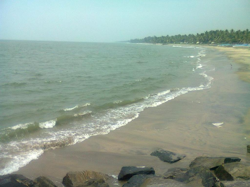 Credit: A beach in Beypore                 Credit: Wikimedia Commons