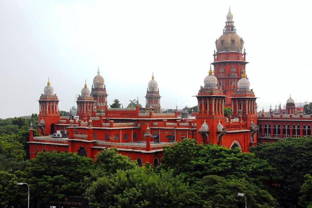 The Madras High Court          Credit: Wikimedia Commons