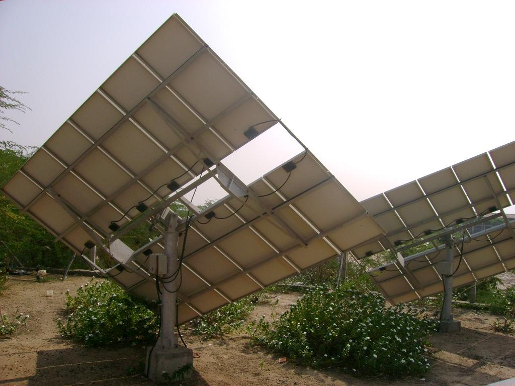 Operation and maintenance, which is crucial for efficient running of a solar plant, is often understated. Credit: Ramya