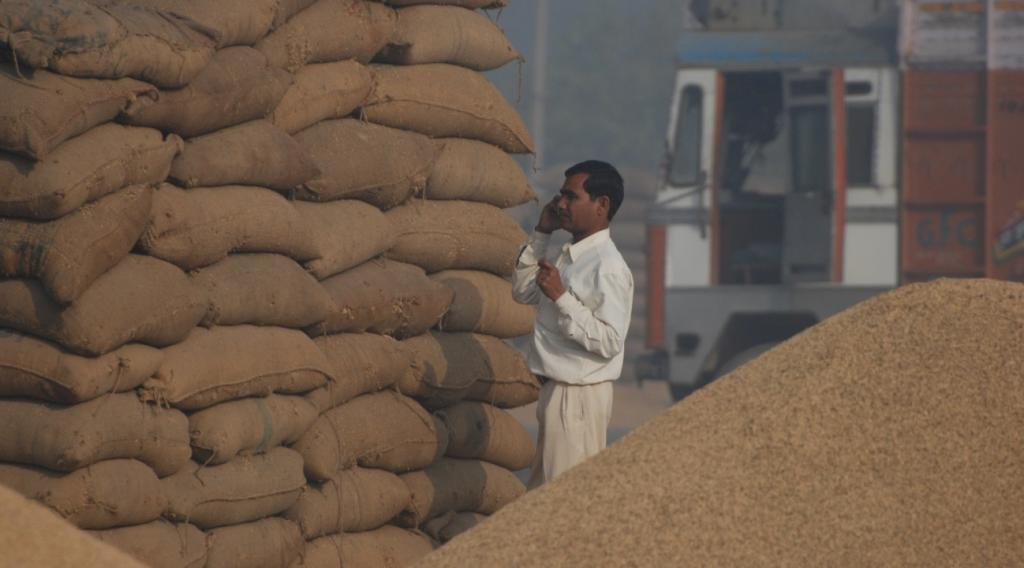 Demand for consumption of agricultural commodities is decelerating. Credit: Agnimirh Basu