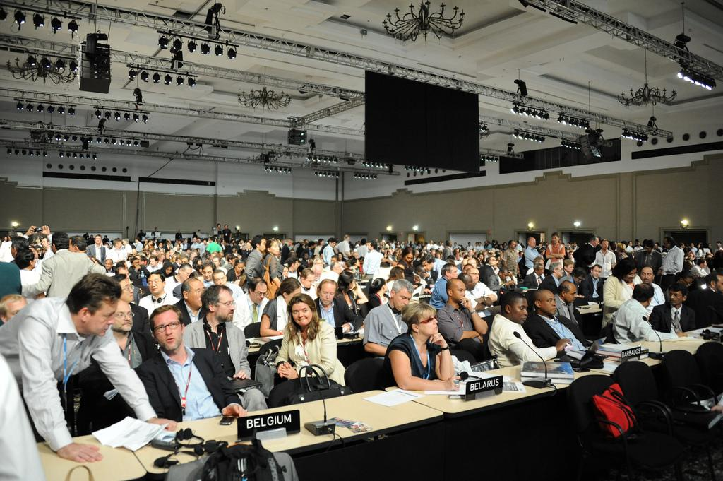 Disagreement occurred on whether the replenishment process should be driven by the GCF Board or contributors who contribute to the GCF Credit: UNclimatechange / Flickr