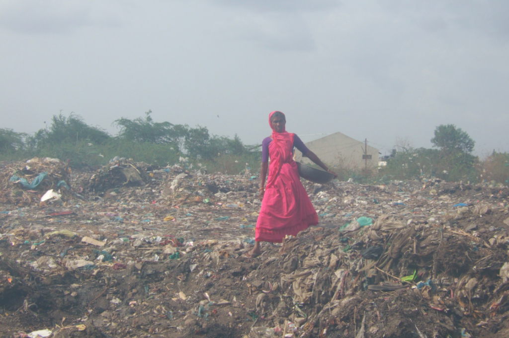 India generates 62 million tonnes of waste every year, of which only 20 per cent is processed. Credit: Wikimedia Commons