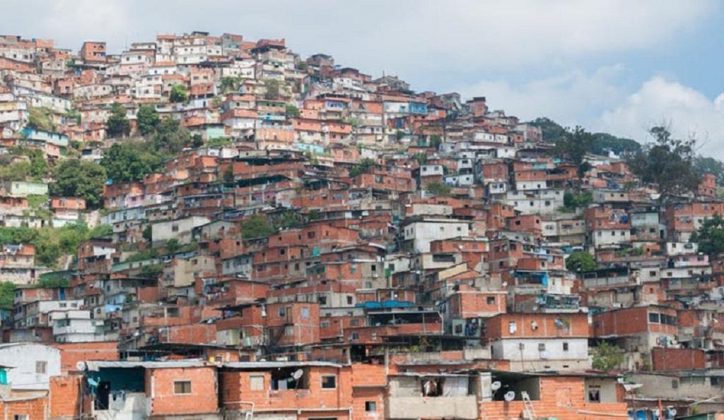 Slums in Caracas, Venezuela. Wikimedia