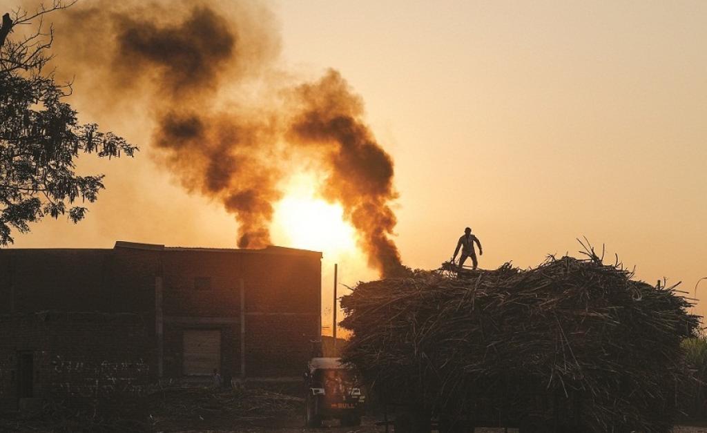 A sugar mill in western Uttar Pradesh         Credit: Vikas Choudhary/CSE