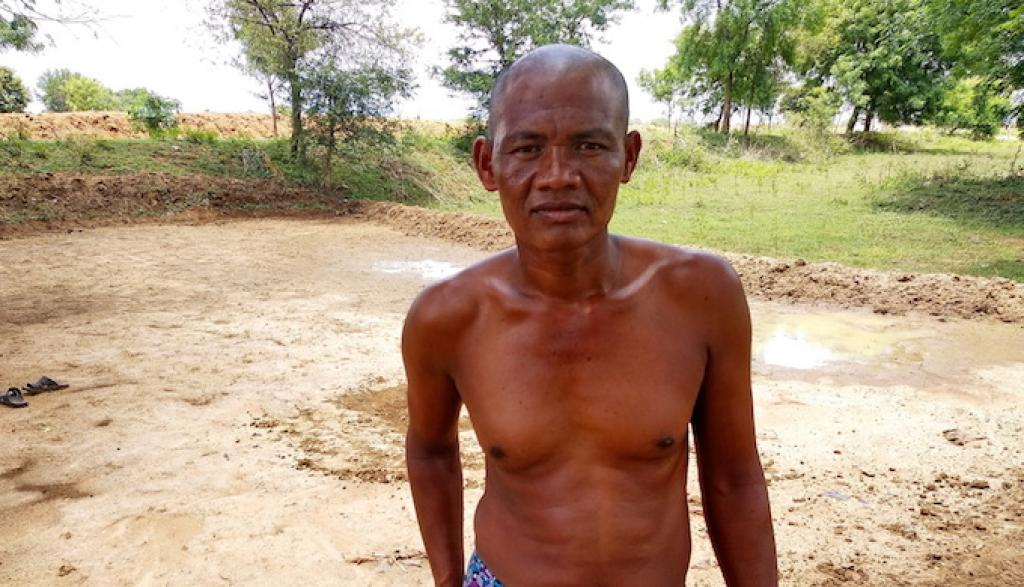 Uddhaba Sabar, a stressed farmer in poverty stricken Naupada district in Odisha, has been facing recurring droughts           Credit: Ranjan Panda