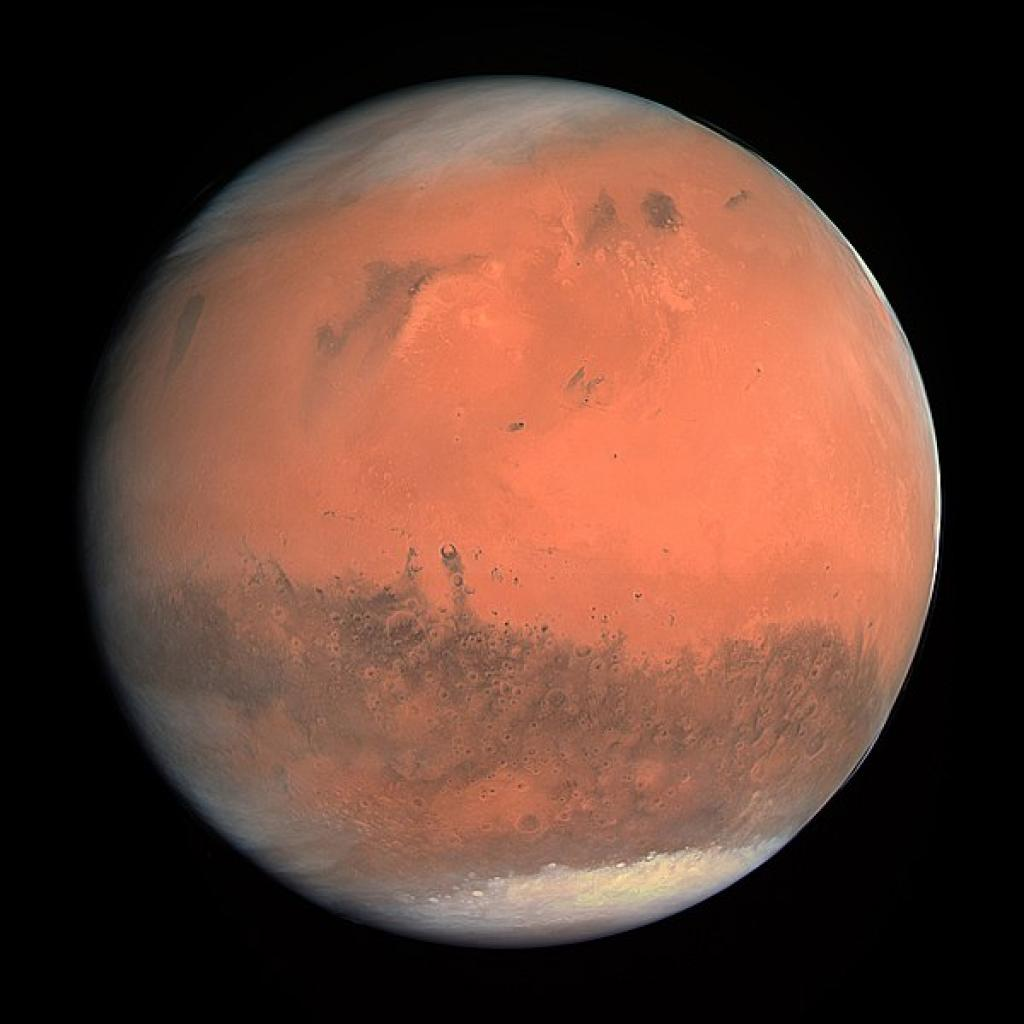 Lake found on Mars by scientists