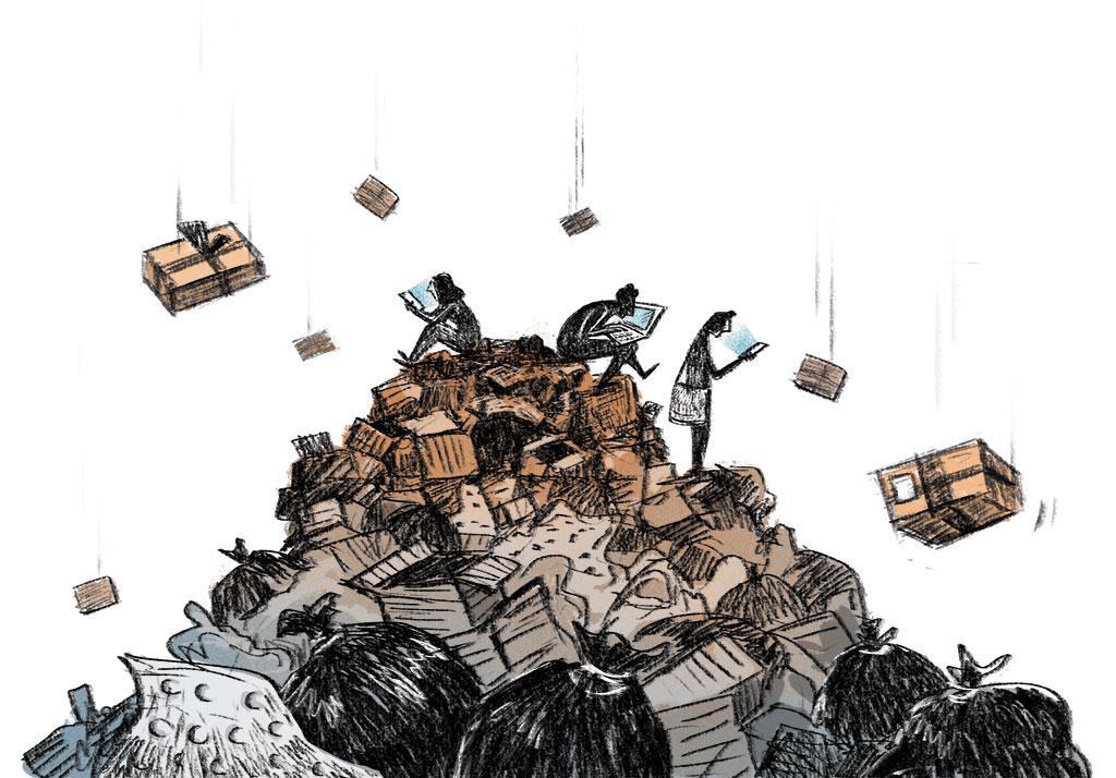 e-commerce waste