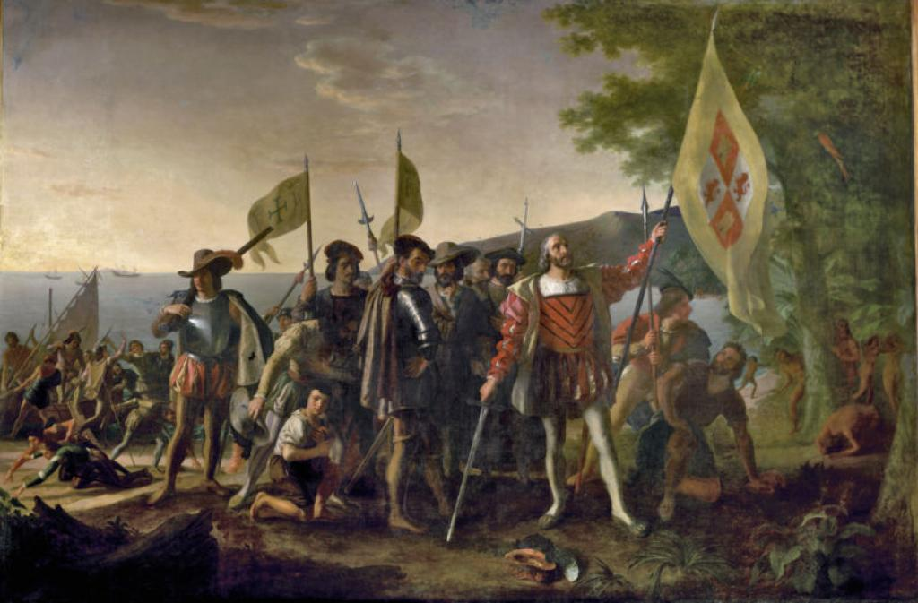 Columbus Day is the celebration of genocide'