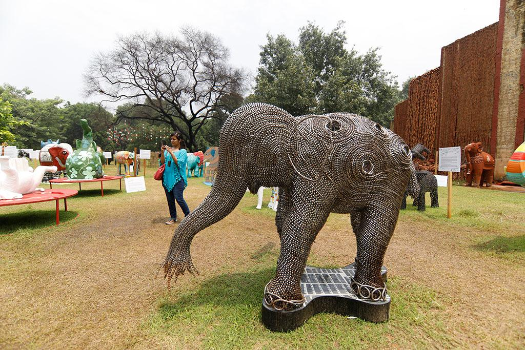 The four-day 'Gaj Mahotsav' saw events dedicated to the elephant in art, culture, dance, music, film, literature, spirituality, ecology, media and policy.