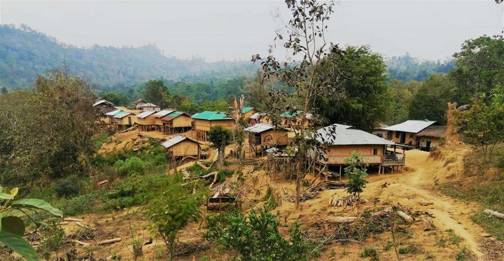 Most families in the remote village of Aung Thuwai Pru Para village couldn't afford electricity until now. Credit: Oporajeo