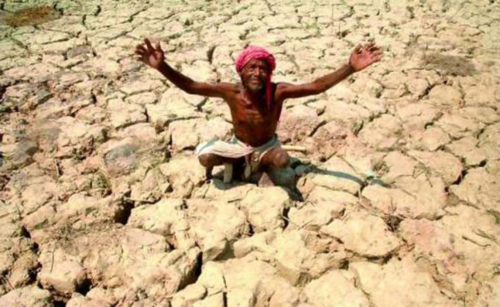 A possible deficit monsoon year will impact the country's agriculture and water woes. Credit: Wikipedia