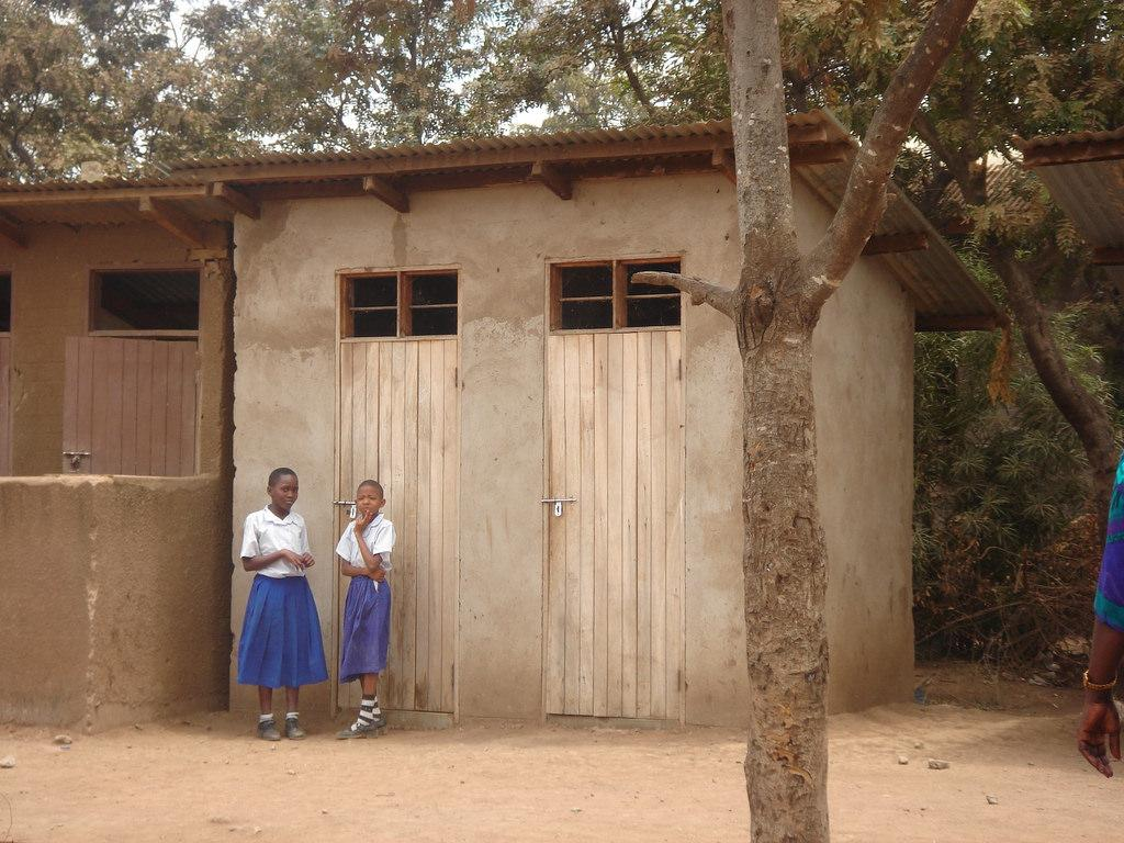 Toilet in Tanzania