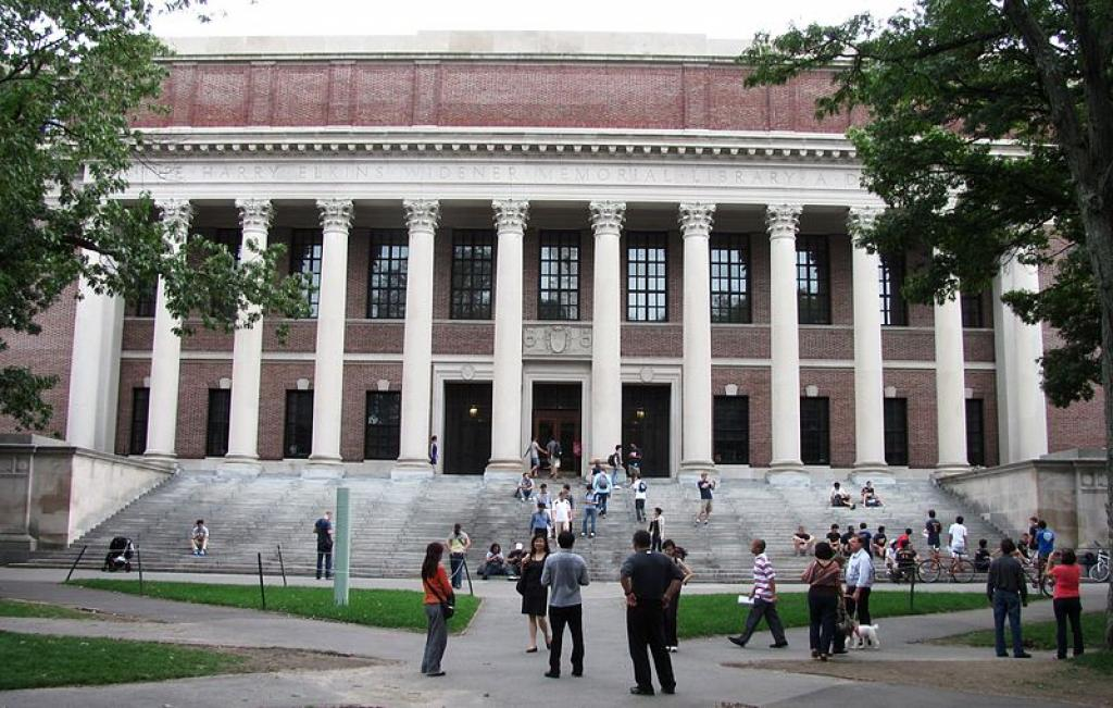 A file photo of Harvard; The risk of investing Endowment funds into farmland has tarnished the legacy of Harvard Universit. Credit: Wikimedia Commons
