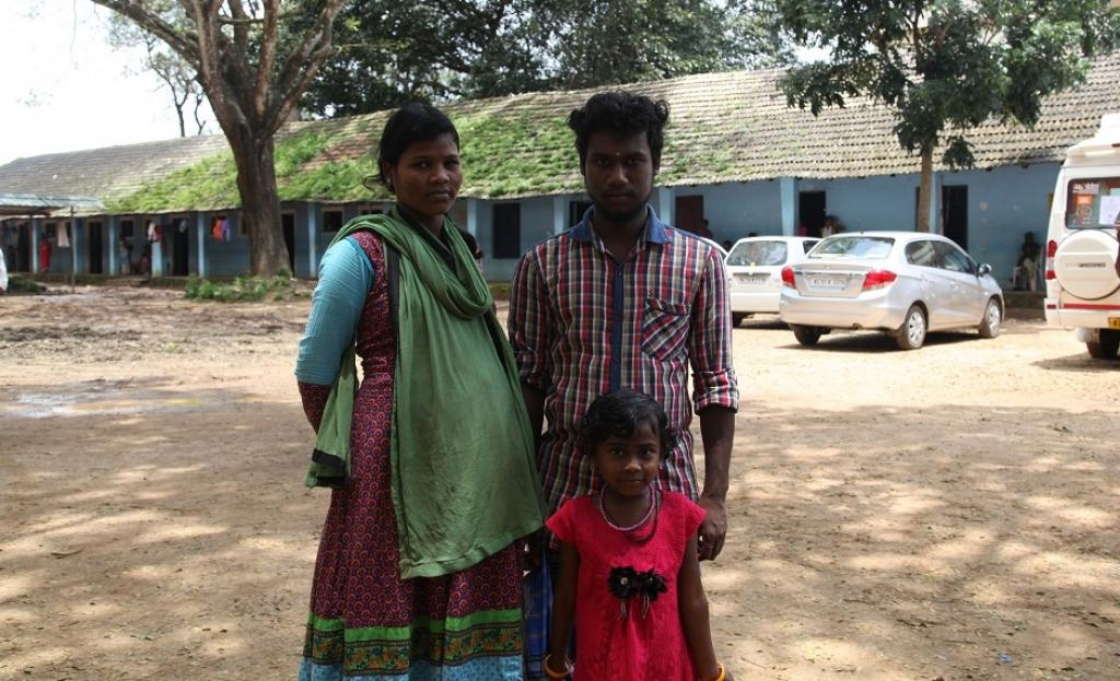 """I am still trying to figure out what would I do once I go back. I went and checked the place where our house stood. There is nothing there, except a heap of mud bricks and broken tiles,"" says Vinod, who has been staying at a relief camp with his pregnant wife Abita for more than two weeks"
