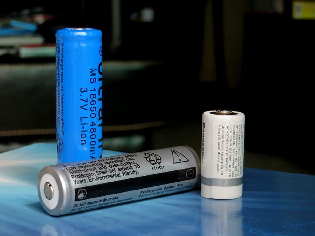 The new battery developed by scientists generates energy densities of 500 Watt hour per kilogram. Credit: Wikimedia Commons