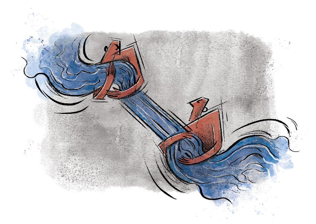 Cauvery water sharing