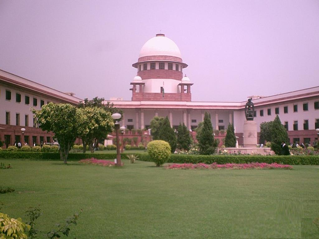 The Supreme Court building in New Delhi      Credit: Wikimedia Commons