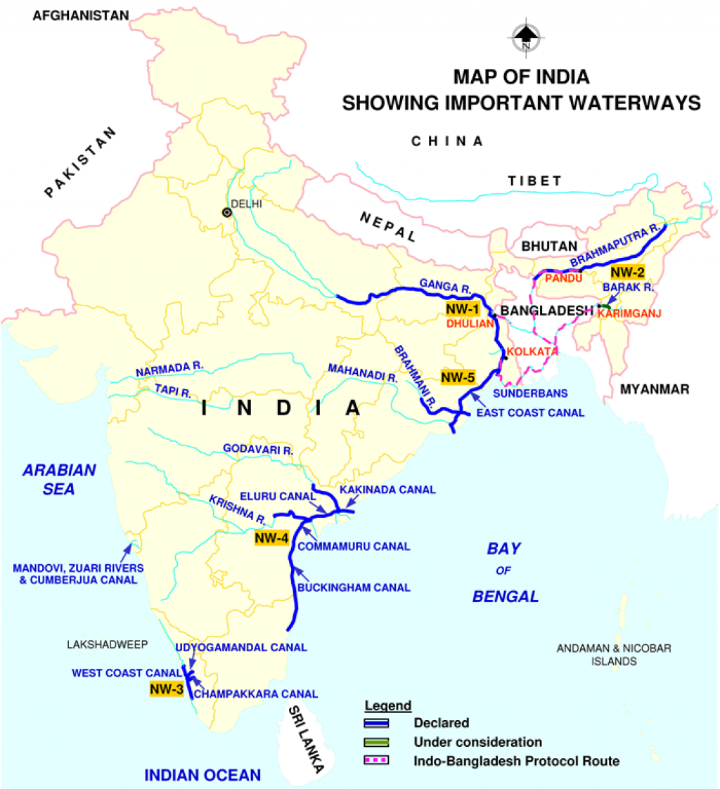 Image courtesy: Inland Waterways Authority of India