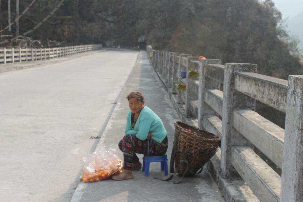 Waiting for tourists on the North Sikkim highway. Credit: Nita Narash