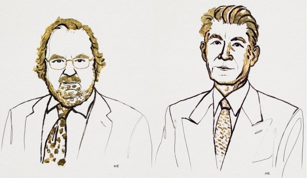 James P Allison and Tasuku Honjo, the winners for this year's Nobel Prize for medicine. Credit: Nobel Prize