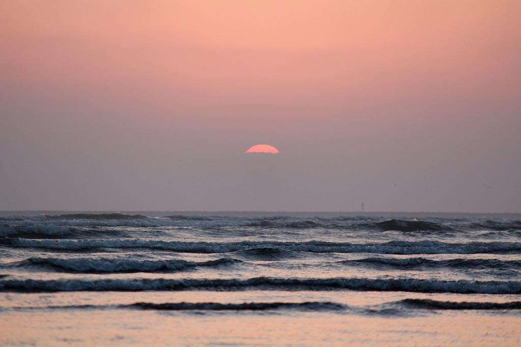 Sunset at Clifton Beach in Karachi, Pakistan  Credit: Getty Images