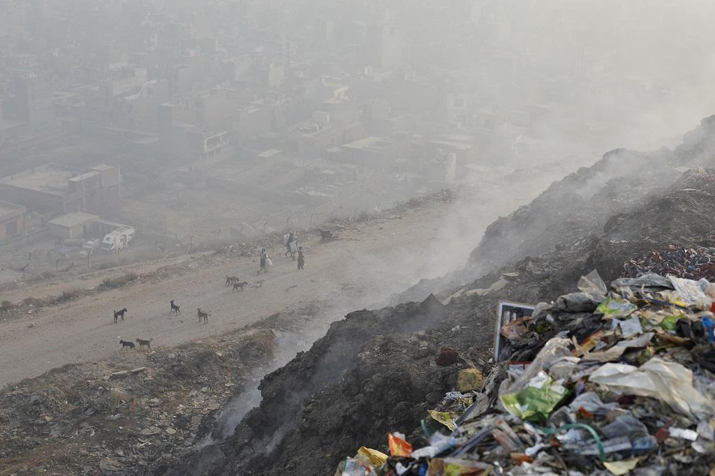 According to the World Health Organization, India has this year become home to the world's 14 most polluted cities, with Delhi ranked sixth. Credit: Vikas Choudhary