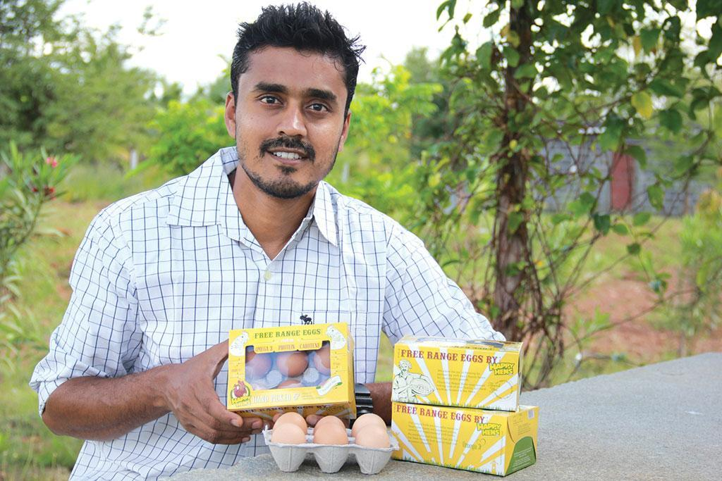 Manjunath, co-founder, Happy Hens