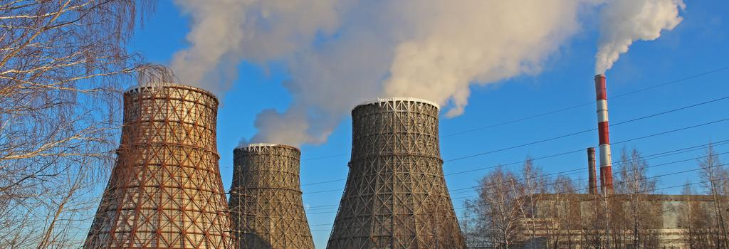 Cooling towers at a thermal power station. The notification mandates that the study must take into account the effects of noise and air pollution. Credits: Getty Images