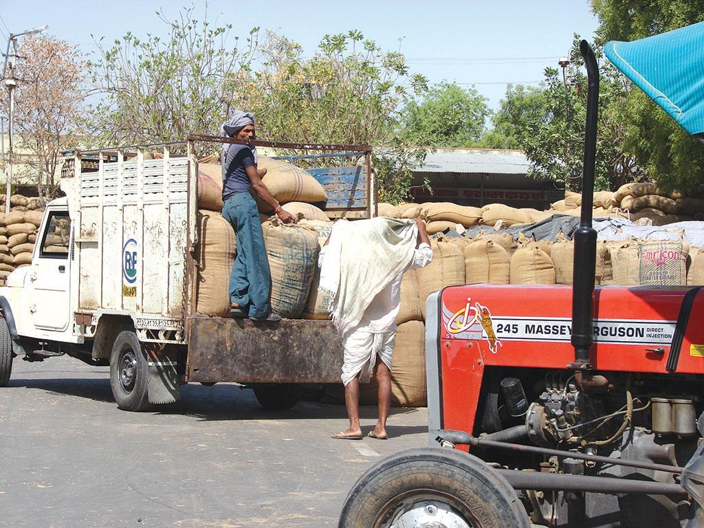 देश तभी आत्मनिर्भर कहा जा सकता है जब यह घरेलू आवश्यकताओं को पूरा करने के लिए पर्याप्त उत्पादन करता हो (रवलीन कौर / सीएसई)