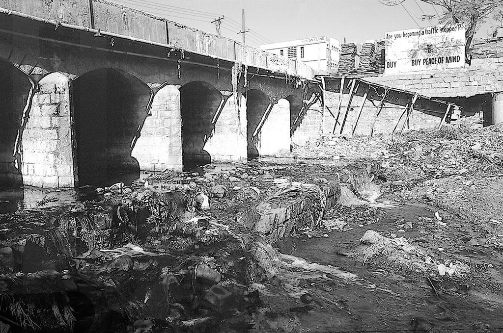 तालाबों में प्रदूषण