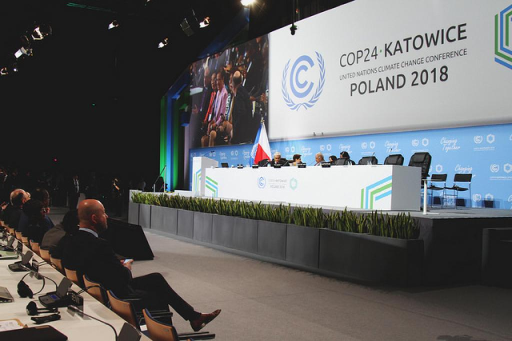 The 24th annual Conference of Parties at Katowice, Poland. Credit: UNclimatechange/Flickr