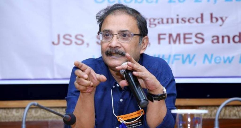 Amit Sengupta (1958 to 2018). Credit: People's Health Movement