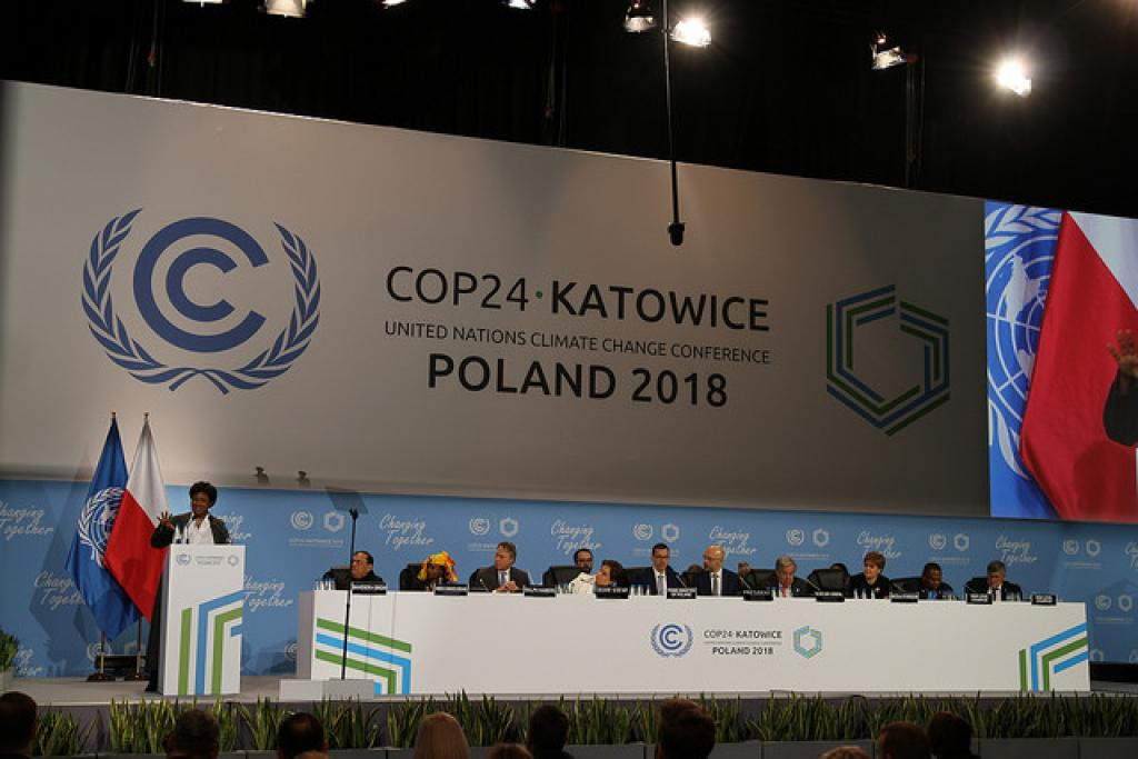The aim of this workshop at Katowice was to develop a set of modalities to implement the outcomes from five in-session workshops conducted before COP23. Credit: UNclimatechange/Flickr
