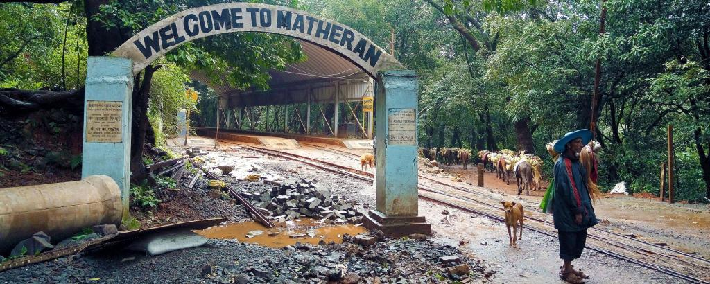 Pollution in Matheran