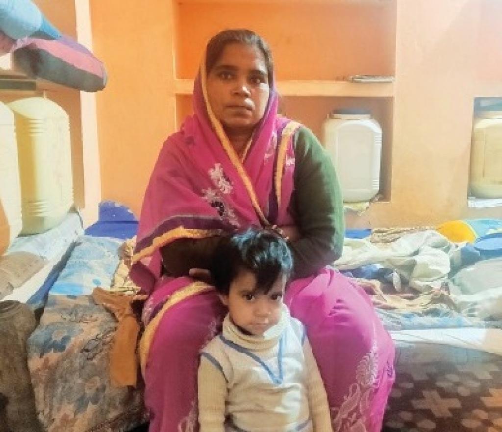 Neeta Sahu of Madhya Pradesh's Vidisha district was advised to undergo abortion after she tested positive for Zika in November. Credit: Banjot Kaur