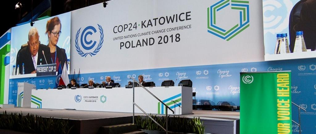 The Talanoa Dialogue's closing meeting in Katowice, Poland. Credit: UNclimatechange/Flickr