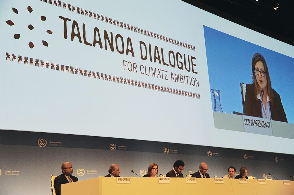 The Talanoa Dialogue for climate ambition elicited a two-page declaration that lacks any legal character (Credit: UNFCCC)