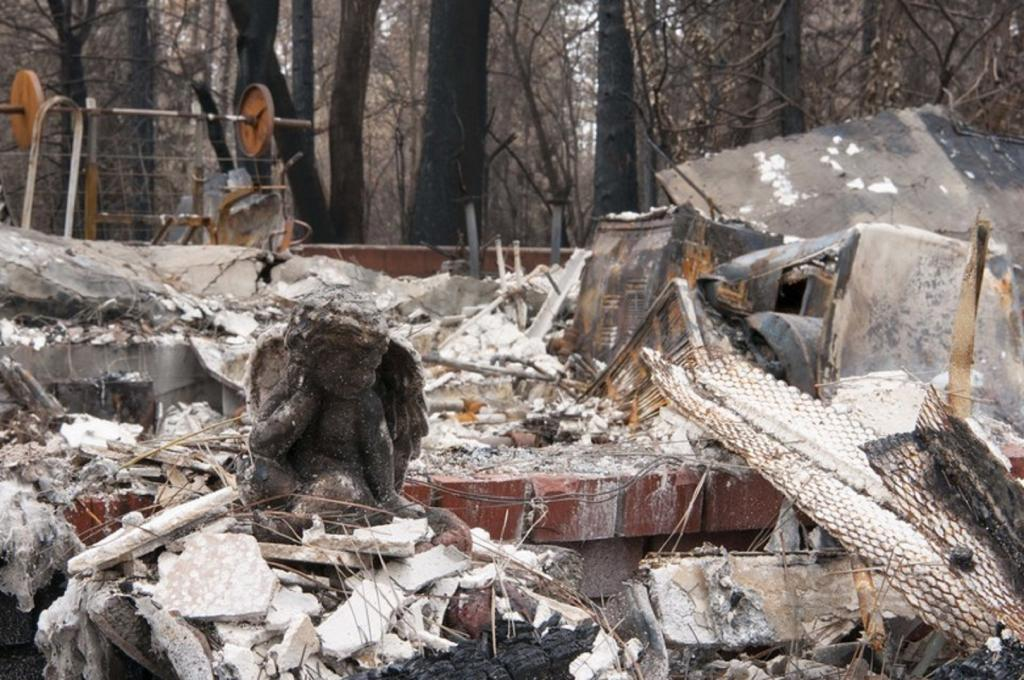 "The report says that the most expensive natural disaster was the ""Camp Fire"" in northern California with overall losses of $16.5bn and insured losses of $12.5bn. Photo credit: US Air Force"