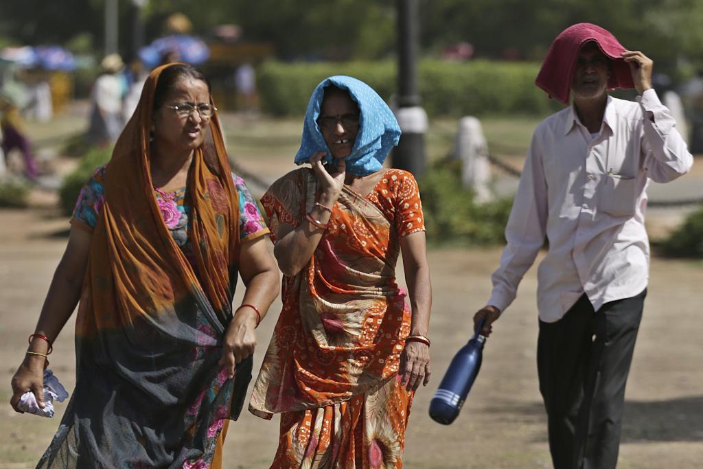 2016 और 2017 के बाद लगातार तीसरा सबसे गर्म साल 2018 रहा। Credit: Vikas Choudhary