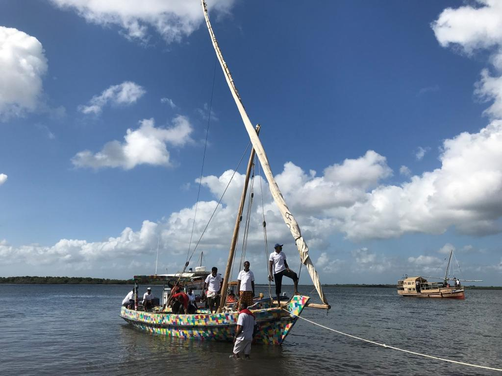 The expedition will start in Lamu on January 24, 2019. The boat is expected to arrive in Zanzibar on February 7, 2019. Photo: Jenni Petäjä/UN Environment/The FlipFlopi Project