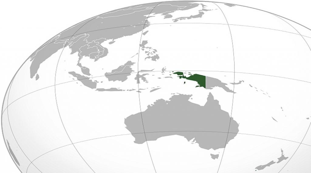 The location of West Papua on a map of the region. Credit: Wikimedia Commons