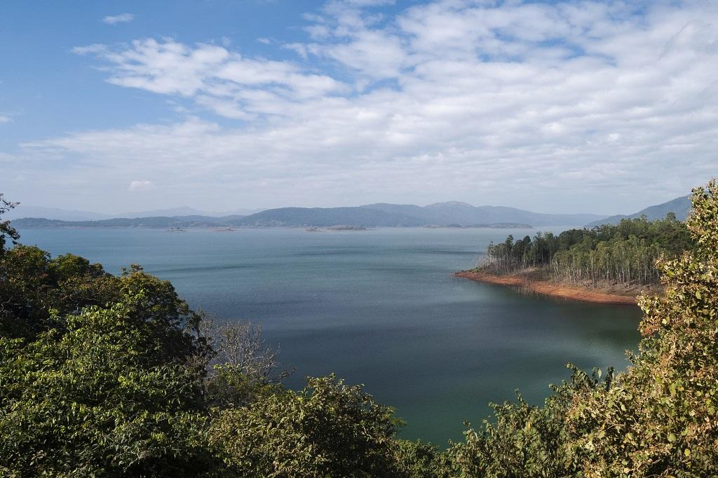 Dam on Kali river