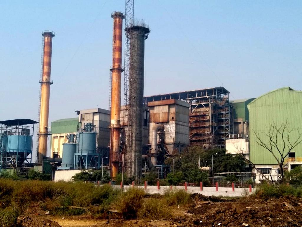 Okhla waste-to-energy plant. Photo: Ranjit Devraj