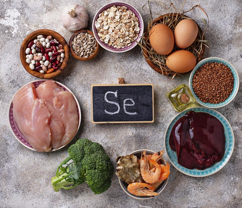 Foods rich in Selenium