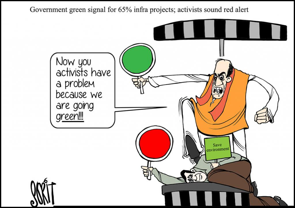 Simply put: Government green signal for 65% infra projects