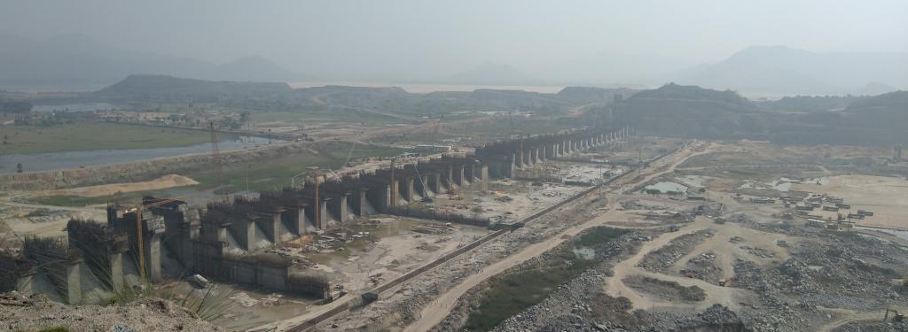 The Polavaram Project. Photo: Creative Commons