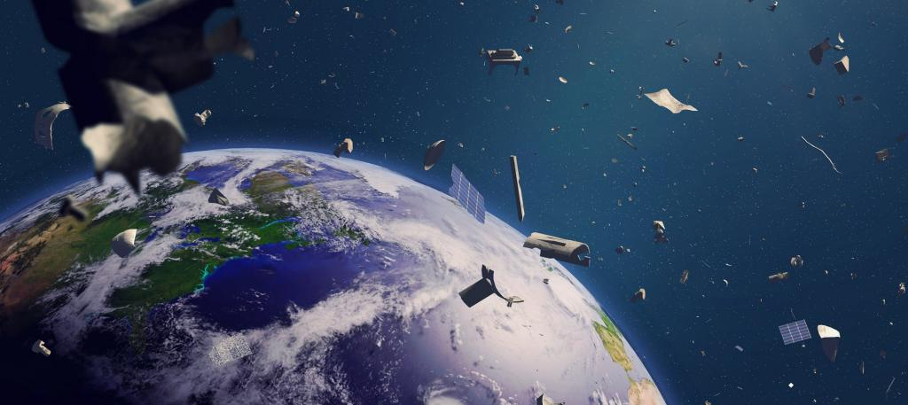 Space debris. Photo: Getty Images
