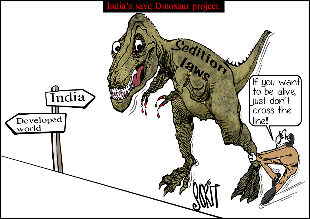 Simply put: India's save Dinosaur project
